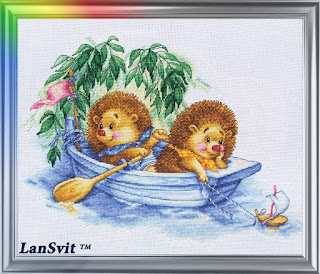 Cross-stitch Lan Svit D-008 «Dreaming of Sea»