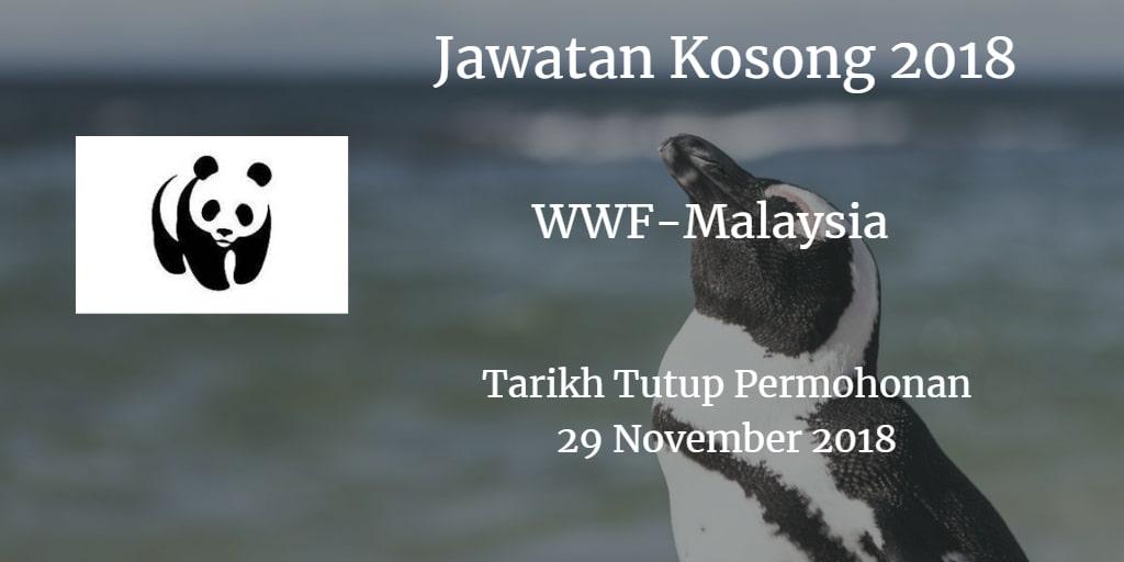 Jawatan Kosong WWF-Malaysia 29 November 2018