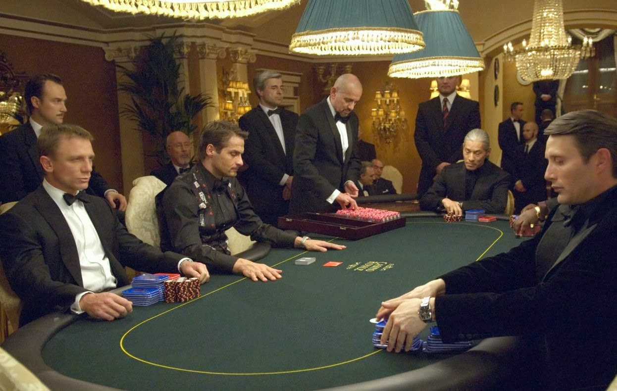 Casino Royale, starring Daniel Craig, Mads Mikkelsen, Directed by Martin Campbell,