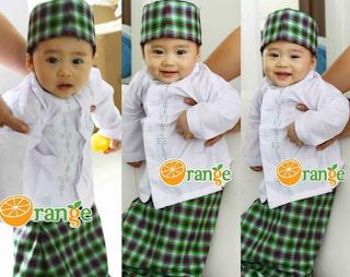 Baju Muslim Anak Laki-Laki Umur 1 Tahun