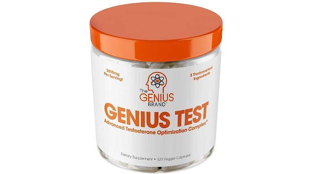 Genius Test Smart Testosterone Booster For Men