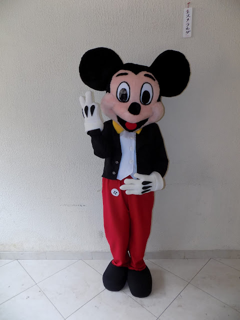 personaje de mickey para animar fiesta