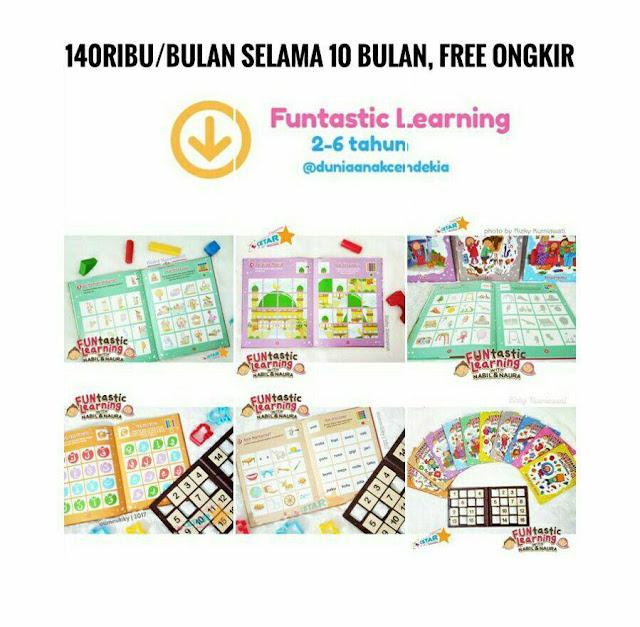 Cara Belajar Sambil Bermain dengan Funtastic Learning Game edukasi