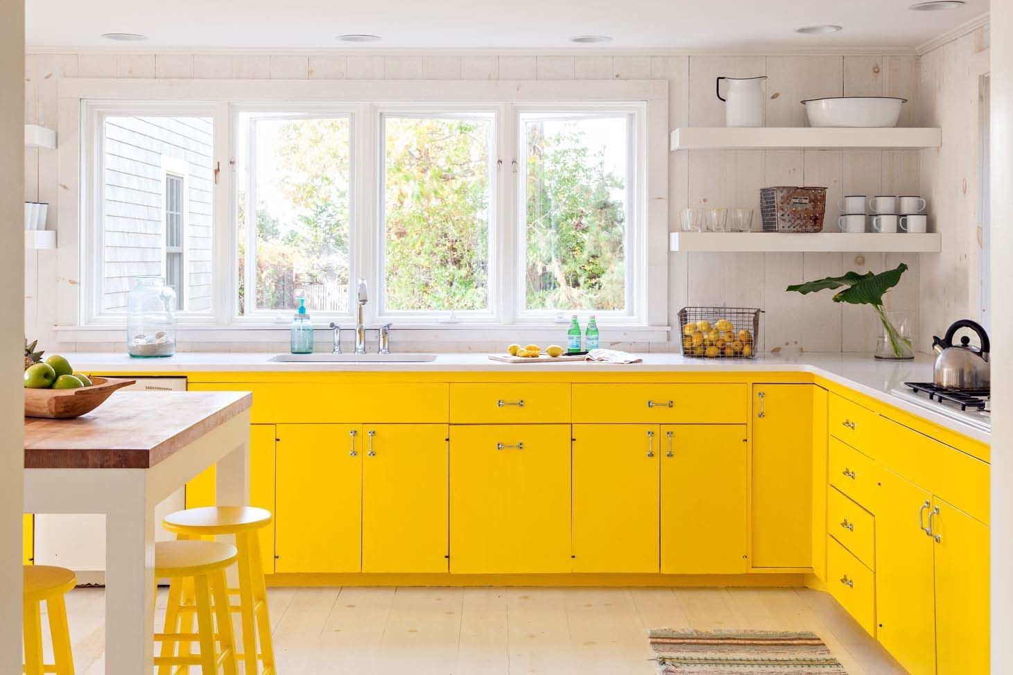 تعرفوا إلى فوائد اللون الأصفر في مطابخكم