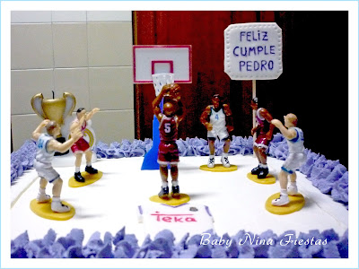 tarta crema baloncesto real madrid