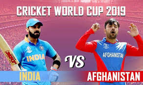 India vs Afghanistan World Cup 2019