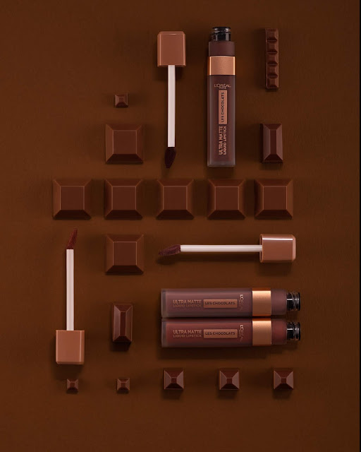 loreal ultra matte les chocolats