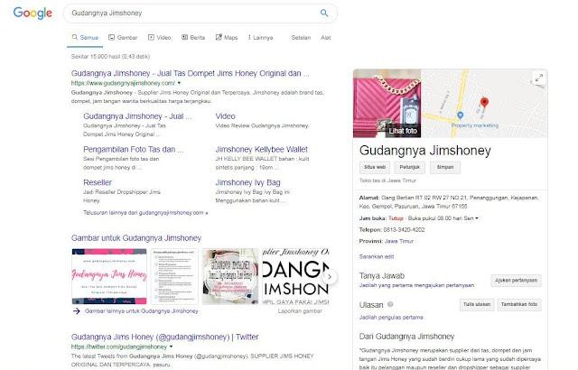 Jimshoney Google Business