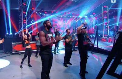 WWE NXT RAW SmackDown Crowd Fans Arena Empty