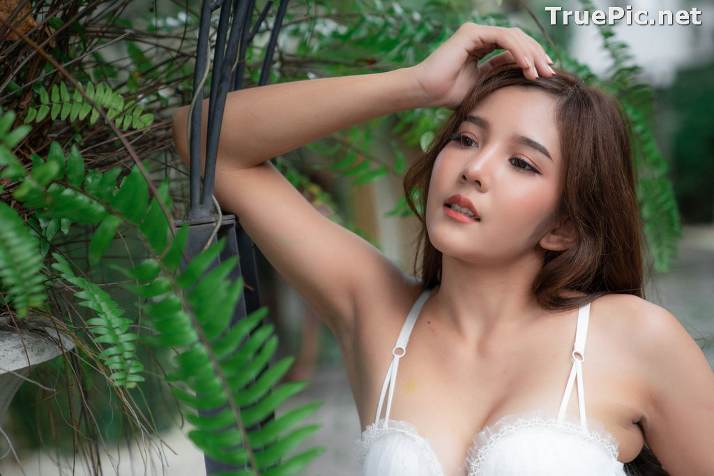 Image Thailand Model – Sukanya Rongpol – Sexy White Bra - TruePic.net - Picture-4