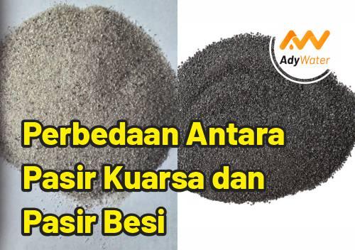perbedaan pasir kuarsa dan pasir besi
