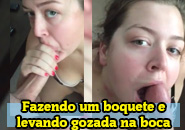 Esposa Gulosa mamando com vontade