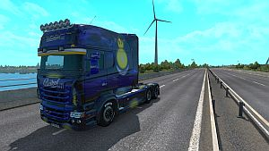Baykal skin for Scania RJL Longline