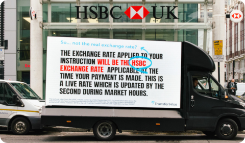 HSBC vs. TransferWise