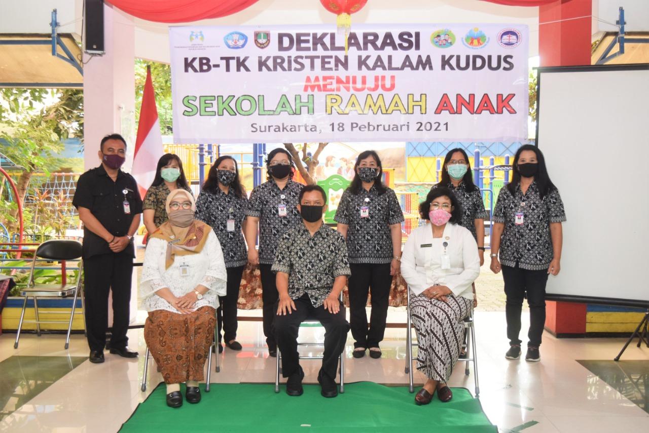 KB-TK Kalam Kudus Surakarta Deklarasikan Sekolah Ramah Anak