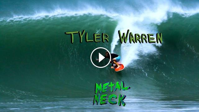 Tyler Pickle Warren Surfing Howling Offshore Barrels