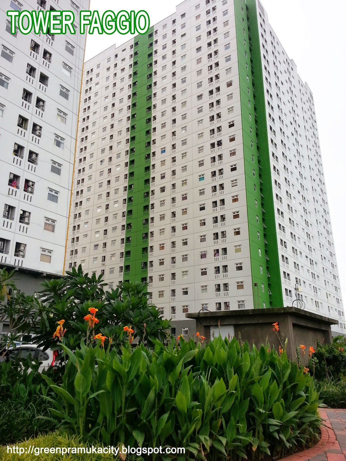 Tower Faggio Green Pramuka City
