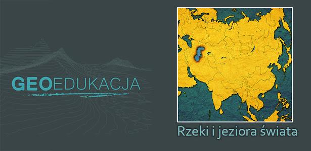 Rzeki i jeziora - mapa