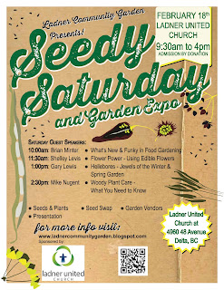 18 days to go until Ladner Seedy Saturday & Garden Expo 2017