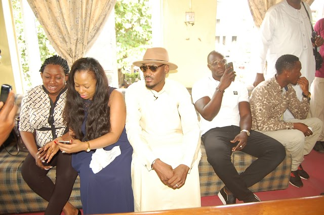 Forty Field 2 face Idibia at 40th