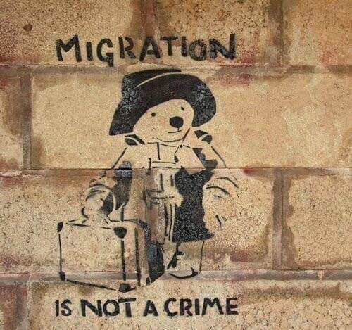 Paddington - Migration is not a crime