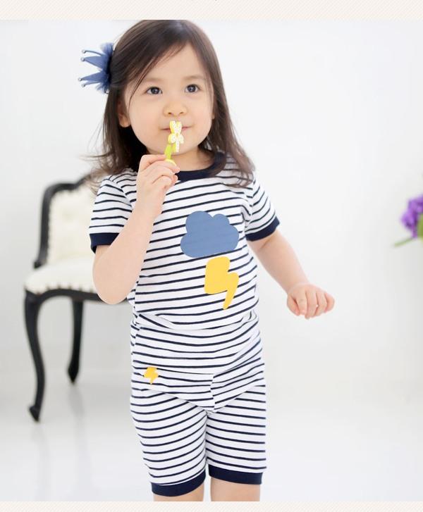 Quần áo trẻ em may bằng vải thun dẻo