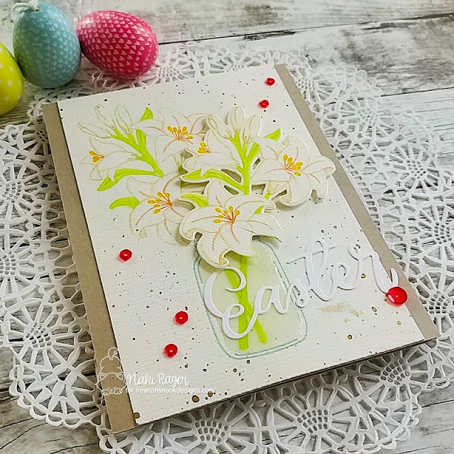 Newton's Nook Designs Easter Lily Set - Naki Rager