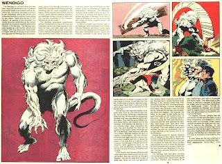 Wendigo (ficha marvel comics)