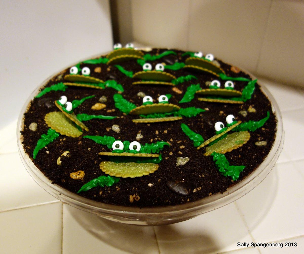 Venus Fly Trap Cake