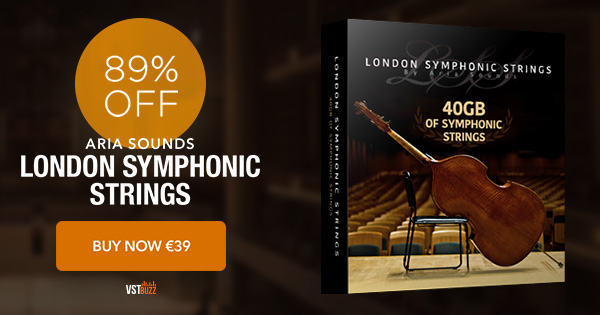 89% off London Symphonic Strings by Aria Sounds