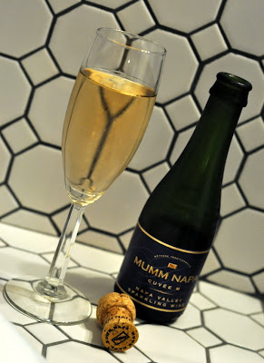 Mumm Sparkling Wine at The Inn on First in Napa, CA - Photo by Taste As You Go
