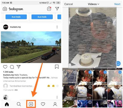 Cara Upload Video Berdurasi Panjang di Instagram
