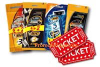 Logo '' Have a BIC day'': vinci 100 gift card da 50€ per eventi e concerti