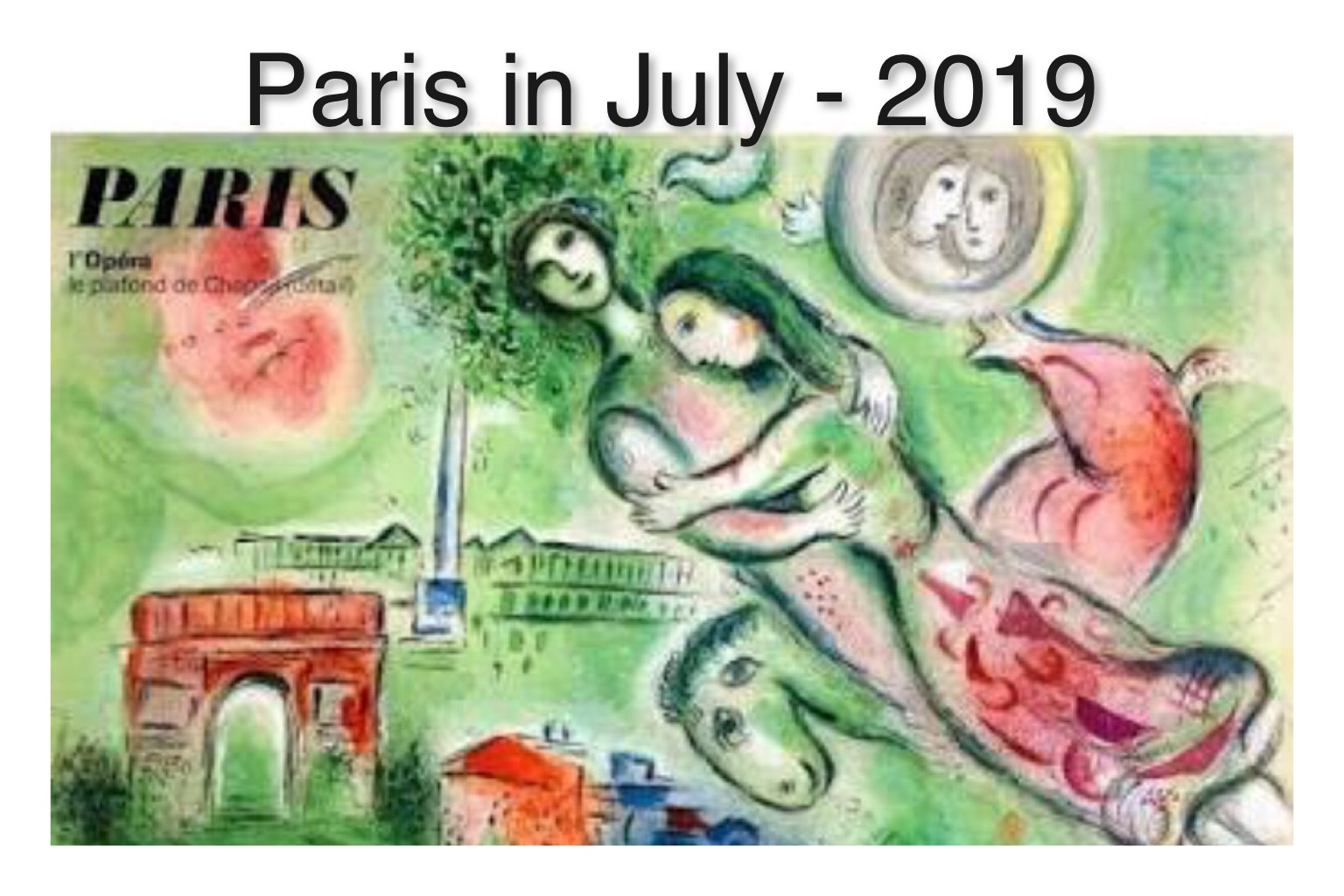 Paris in July - 2019