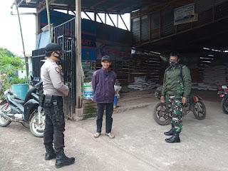 TNI Polri Patroli Bersama Himbau Masyarakat Disiplin Protokol Kesehatan