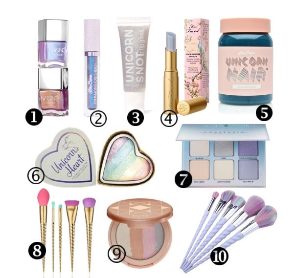 Unicorn Makeup Products That You Wish To Own