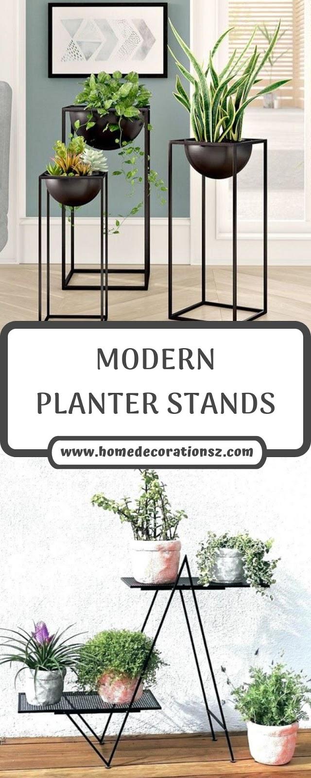 MODERN PLANTER STANDS