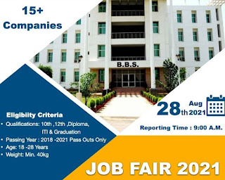 Mega Job Fair 2021 For 10th , 12th, ITI ,Diploma & Graduation Candidates At Prayagraj, UP    Apply Now