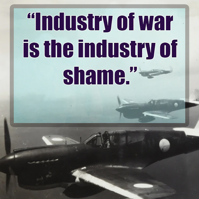 Quotes against war and violence