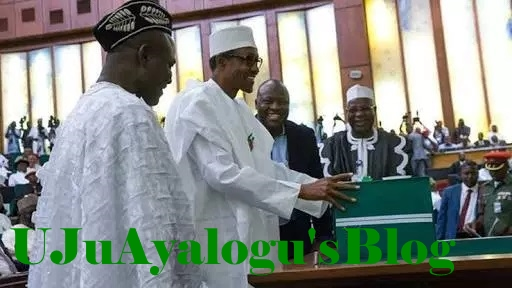 BREAKING: Protesting NASS workers disappear as Buhari presents 2019 budget