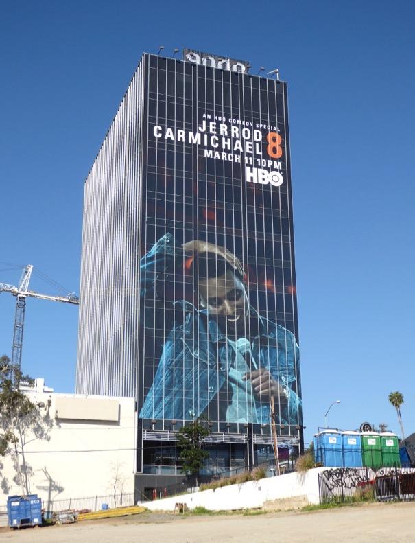 Jerrod Carmichael 8 standup billboard