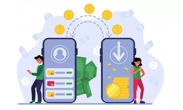 Transaksi lewat Smartphone