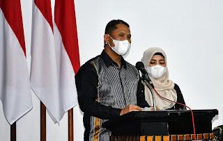 Lepas Sambut Kapolres, Mahmun Hari Sandi Dipeusijuk di Aceh Timur