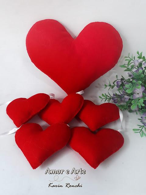 Coração Grande & Varal de Corações