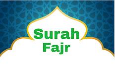 Surah Fajr