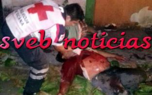 Balean a dos en Lerdo de tejada Veracruz: muere uno