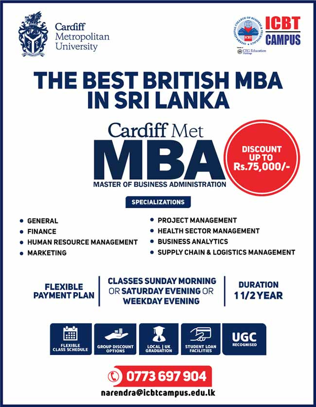 ICBT Campus | The Best British MBA in Sri Lanka.