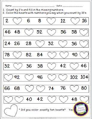 Number Names Worksheets : count by twos worksheet ~ Free Printable ...