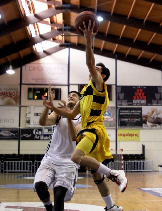Πήραν τη νίκη αλλά όχι και τη διαφορά οι παίδες του Αρη-Φωτορεπορτάζ από τη νίκη επί της Καλαθοσφαιρικής Ακαδημίας Αθηνών με 63-60