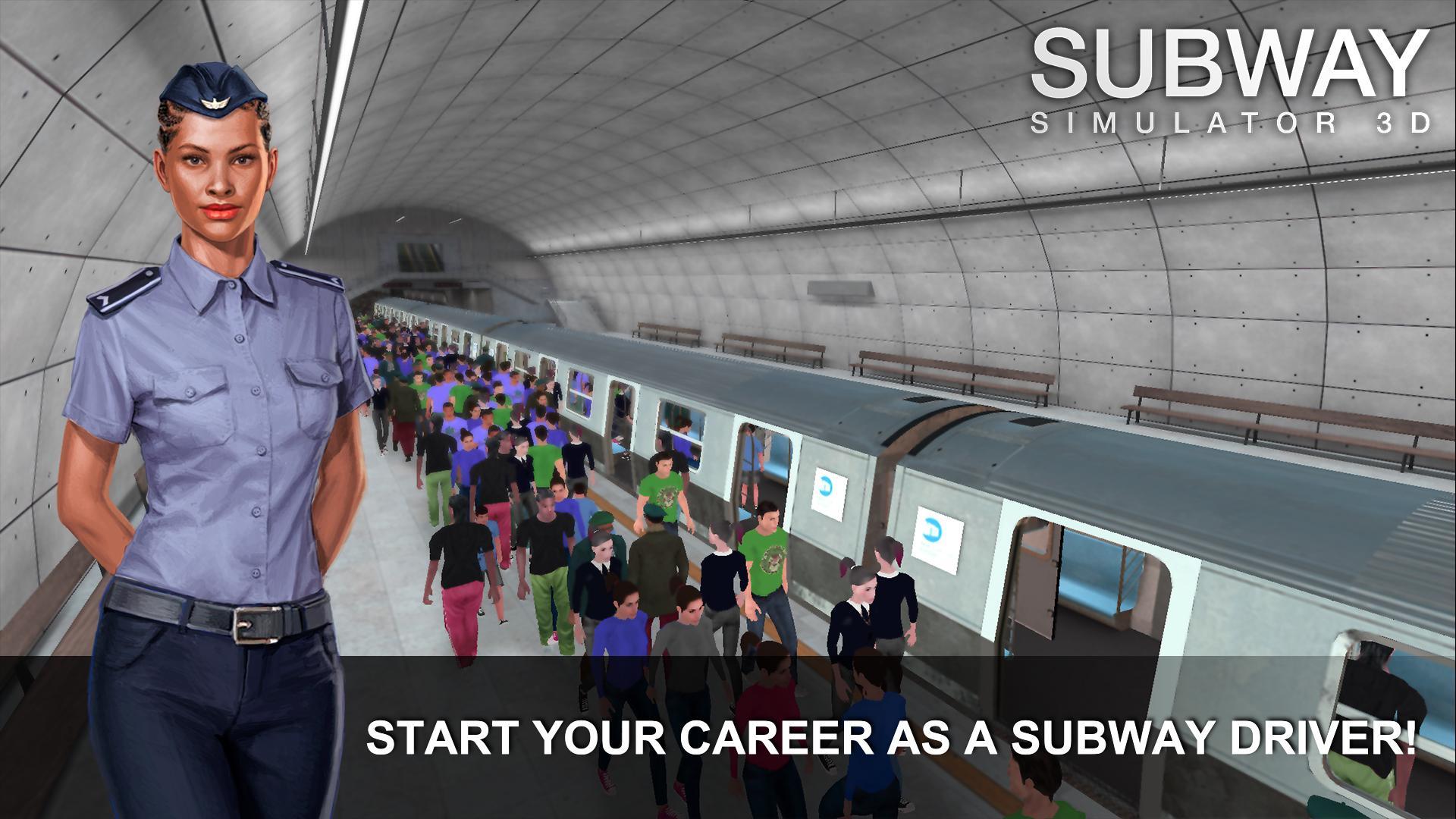 Game Kereta Api Terbaik di Android Subway Simulator 3D